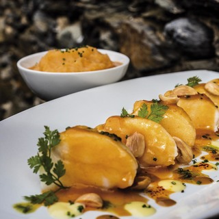 Monk fish with suquet pur%e2%80%9ae in catalan style   photofrancesc guilamet