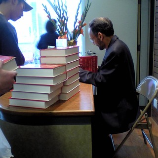 Mcgee signing books